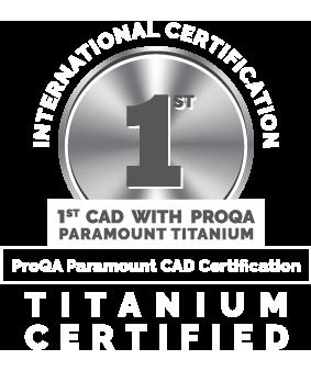 Titanium certified