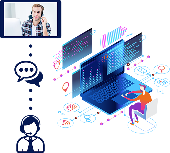 Videochat tools for Control Rooms